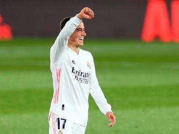 Lucas Vázquez, con el Real Madrid