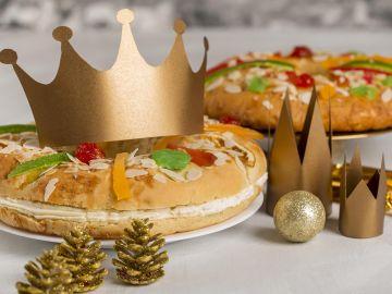 Imagen de archivo de un roscón de Reyes