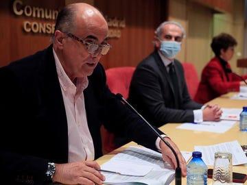 Rueda de prensa de la Consejería de Sanidad de Madrid