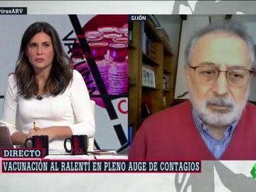 """López Acuña, exdirectivo de la OMS: """"Hay que vacunar como si fuera una operación de guerra"""""""