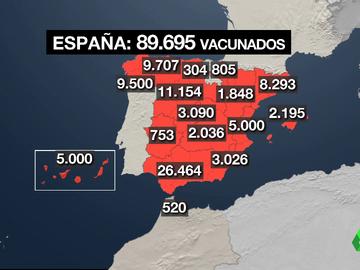 mapa de vacunas actualizado