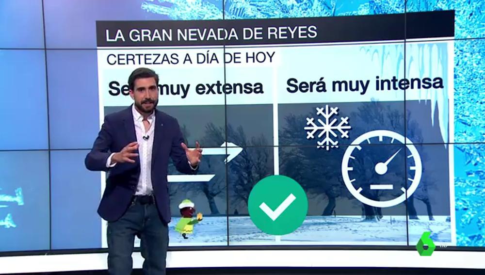 Día de Reyes teñido de blanco: previsión de nevadas y temperaturas bajo cero el 6 de enero