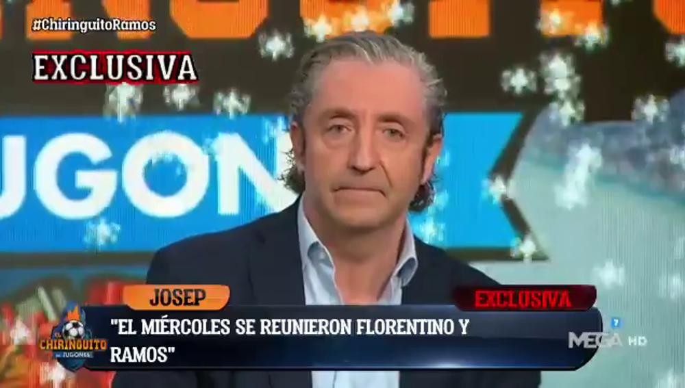 Reunión entre Sergio Ramos y Florentino Pérez: Pedrerol desvela los detalles en exclusiva