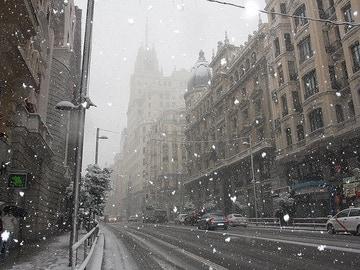 Así será la nevada histórica de Madrid: se esperan 20 centímetros de espesor a partir del jueves