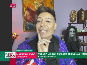 """Las predicciones del Maestro Joao para 2021: """"Estoy hasta el as de copas de los catastrofistas, ¿qué fuman?, ¿pan rallao?"""""""