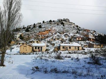 Imagen de la nevada en Villaverde de Montejo, Segovia