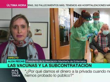 """La indignación de las enfermeras madrileñas ante la contratación de Cruz Roja para la vacunación: """"Es nefasto y triste"""""""