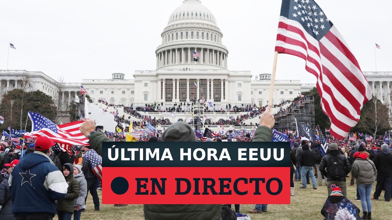 EEUU: Asalto al Capitolio en Washington por seguidores de Trump, última hora en directo
