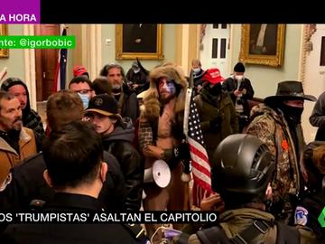 Seguidores de Trump irrumpen en el Capitolio de EEUU
