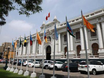 Fachada del Congreso de Perú.