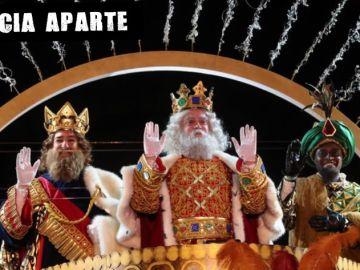 Los Reyes Magos de Oriente a su llegada a Madrid