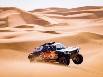 Sainz, en las dunas