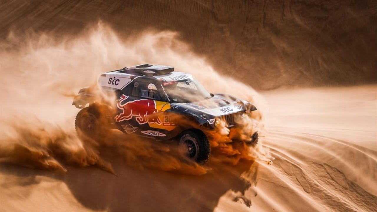 Carlos Sainz en el Rally Dakar