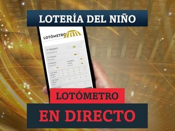 Sorteo de la Lotería del Niño 2021 | Comprobar los números de la Lotería con el Lotómetro, en directo