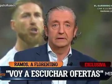 """Exclusiva de Pedrerol sobre el 'caso Sergio Ramos': """"El PSG llamó al Madrid para negar la oferta"""""""