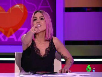 """Lorena Castell lanza un mensaje a los espectadores: """"¿Quién no ha tenido un niño y se ha liado con otra persona estando casado?"""""""