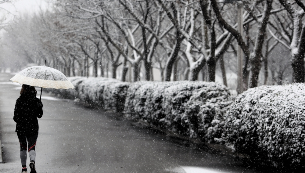 La borrasca Filomena dejará 20 centímetros de nieve en Madrid y Castilla-La Mancha y frío, nieve y lluvias en la mayor parte del país