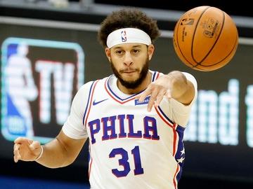 Seth Curry, jugador de los Sixers