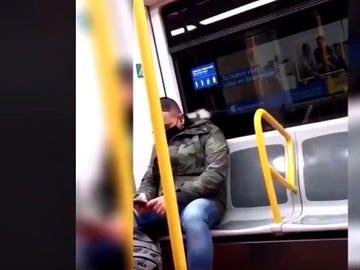 Ataque racista en el Metro de Madrid