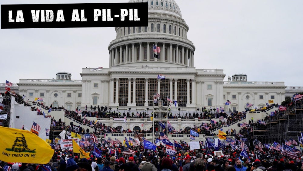Imagen del asalto al Capitolio de EEUU