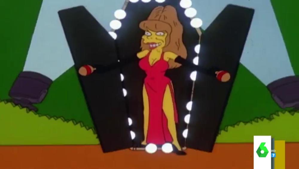 Charo 'la cuchicuchi', la murciana que sale hasta en los Simpsons pero es desconocida en España