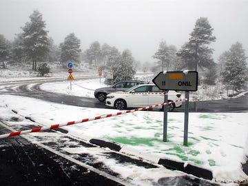 Madrid y España   Última hora de la ola de frío, limpieza de calles y estado de las carreteras