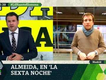 """Martínez-Almeida: """"Hasta finales de la semana que viene será muy difícil moverse por Madrid"""""""