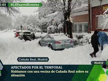 """La dramática situación en la Cañada Real por el temporal: """"Temo encontrar cadáveres congelados en los hogares"""""""