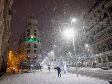 Madrid, colapsada por la nieve de la borrasca Filomena
