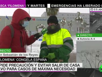 Voluntario en Madrid