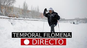 La última hora de la borrasca Filomena, en directo en laSexta.com