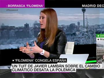 Isabel Zubiaurre, meteoróloga de laSexta