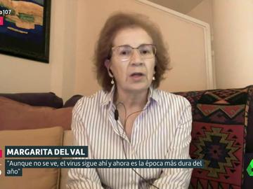 """Margarita del Val advierte sobre la """"peor época del año"""": """"Está en nuestras manos evitar un confinamiento severo"""""""