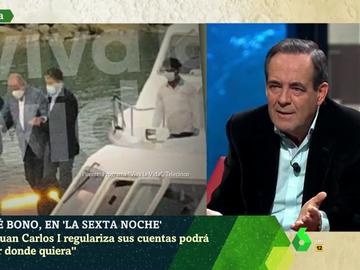 """Bono cree que Juan Carlos I no debería volver a Zarzuela y tacha la inviolabilidad del rey de """"extravagancia medieval"""""""