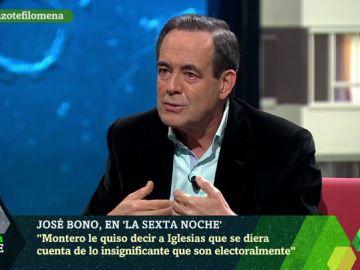 """Bono: """"Me encantaría que Podemos estuviera fuera del Gobierno, pintan muy poco y se quejan mucho"""""""