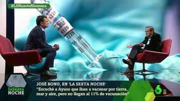 """Bono critica que Madrid sea la comunidad que menos vacuna: """"Que los sanitarios están de puente no cuela"""""""