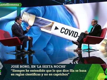 """Bono celebra que Illa sea candidato a la Generalitat: """"En Cataluña tienen dos virus: el COVID y el separatismo"""""""
