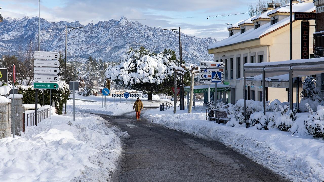 Justificante para faltar al trabajo por la nieve: descarga aquí el documento de diversas localidades del sur de Madrid