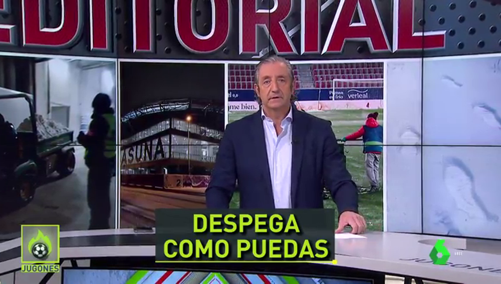 """Pedrerol, sobre las quejas del Real Madrid: """"Jugar tan mal no fue culpa del campo"""""""