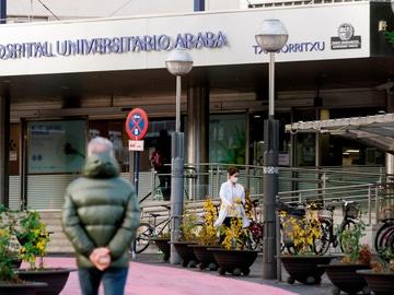 Imagen del hospital de Txagorritxu en Vitoria