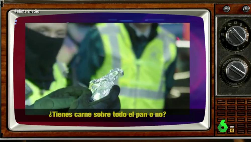 """""""Bienvenido al Brexit"""": el momento en el que un guardia confisca bocadillos a un camionero en la frontera entre Reino Unido y la UE"""