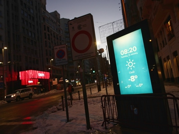 Noche de récord en el centro: hacía casi cuarenta años que no se registraban temperaturas tan frías