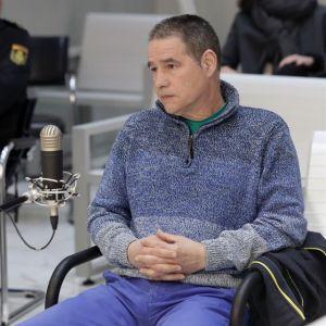 El histórico etarra Antonio Troitiño, en 2018 durante un juicio en la Audiencia Nacional.