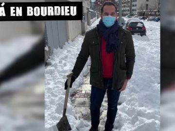 Ignacio Aguado llama en un vídeo a que los ciudadanos salgan con sus palas