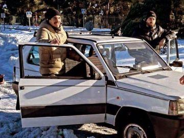 Un Fiat Panda, 'arma' de los jugadores del Atleti para vencer a FIlomena