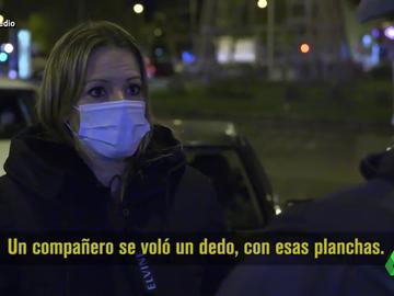 """Andrea Ropero """"La necesidad te obliga a venir aquí para no dormir en la calle"""""""