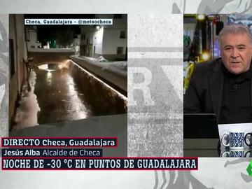 """Habla el alcalde de Checa, el pueblo que ha registrado -34 grados: """"Una vez pasas los -7, ya todo es lo mismo"""""""