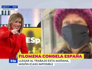 """El divertido percance de Susanna Griso con la seguridad de Atresmedia al no reconocerla: """"¡Oiga usted!"""""""