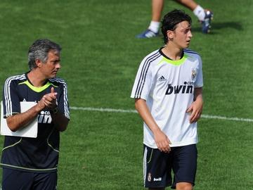 Özil y Mourinho