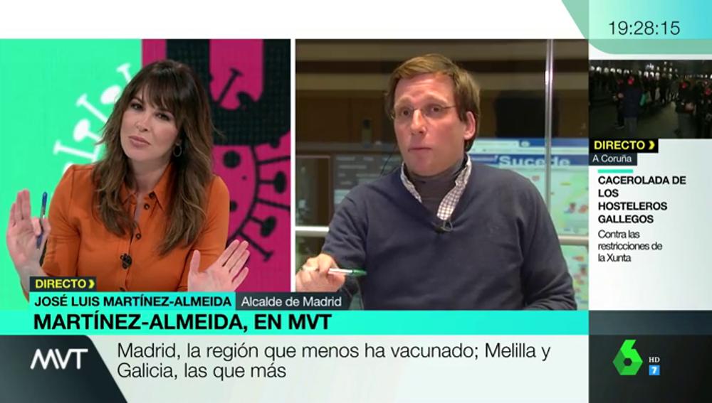 José Luis Martínez-Almeida, en MVT